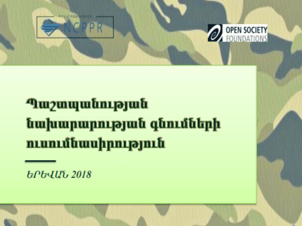 Defense Ministry procurement review
